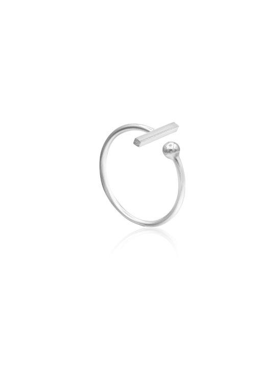 Inel din Argint - Minimal Design