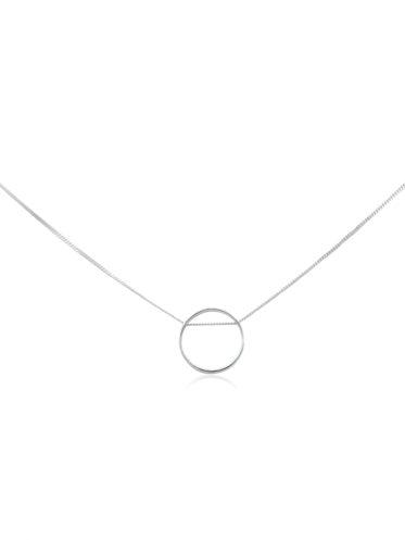 colier_argint_minimal_teratai_cerc