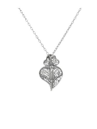 Colier din Argint Inima Vianei