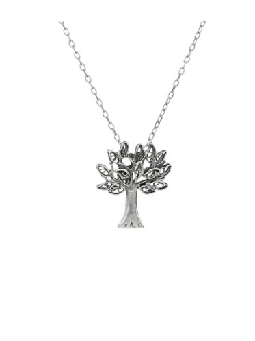 Colier Argint cu Pandantiv Stejar