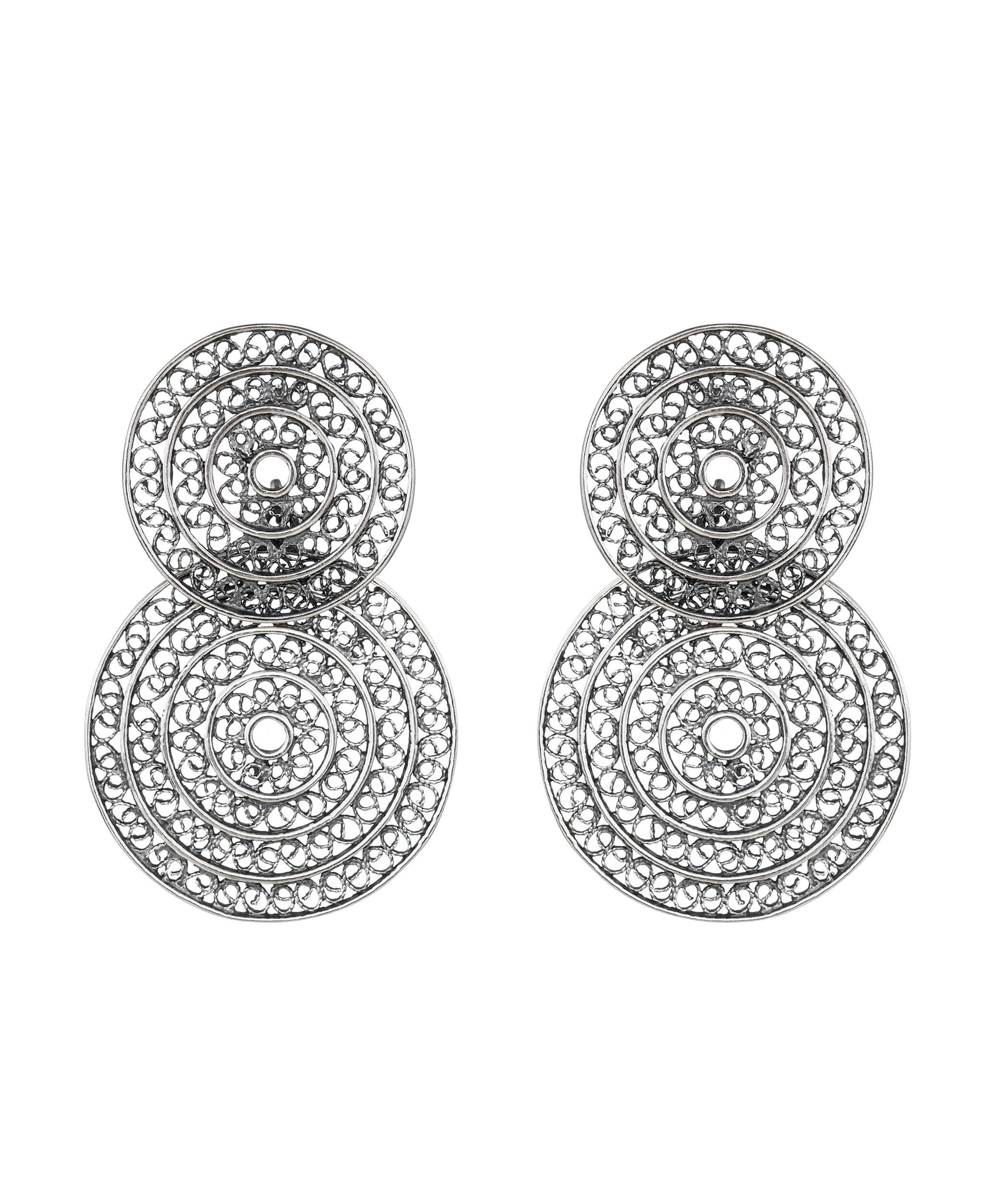 Cercei Argint Filigran - Lucrati Manual - Unicat